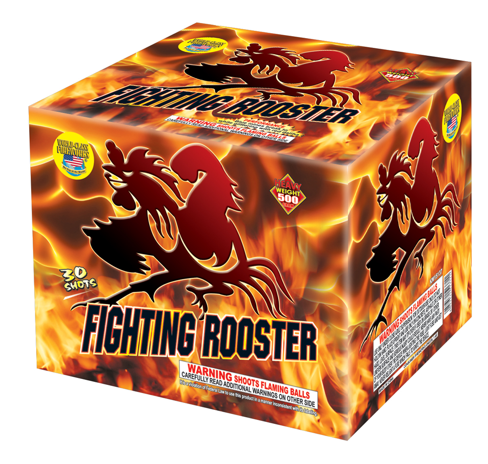 Fighting Rooster 30 shot