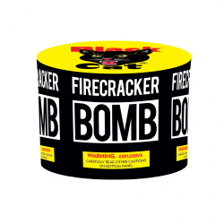FIRECRACKER BOMB BLACK CAT (NEW