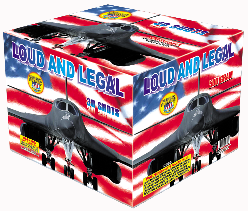 Loud and Legal 30 shot