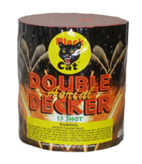 Black Cat Double Decker 13 shot