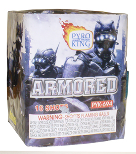Armored 16 shot