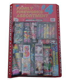 Fireworks Assortment #4