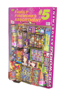 Fireworks Assortment #5