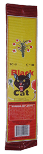 100 Strip Black Cat