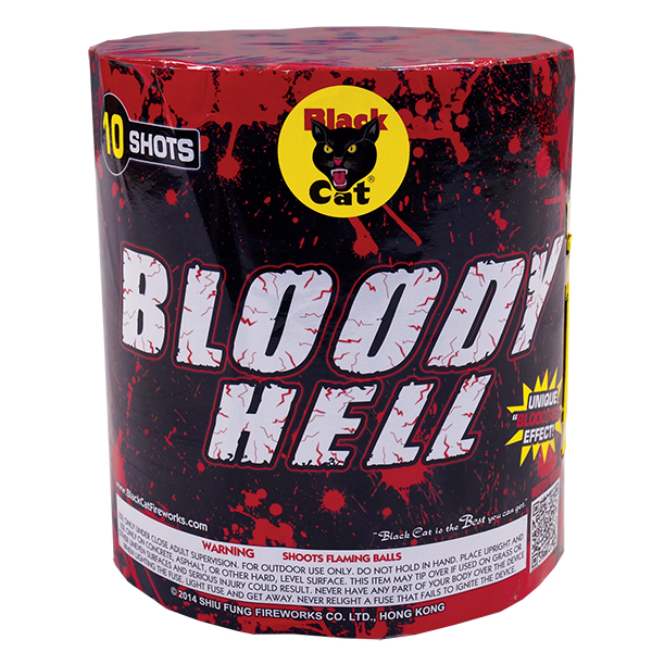 Black Cat Bloody Hell 10 shot