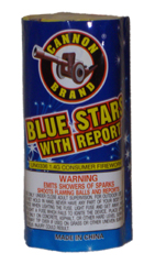 Blue Star w/report 7 shot