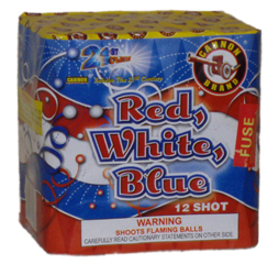 Red, White, Blue 12 shot