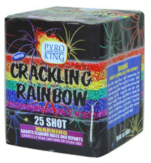 Super Crackling Rainbow 25 shot