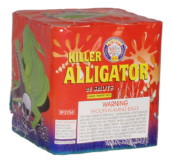 Killer Alligator 25 shot