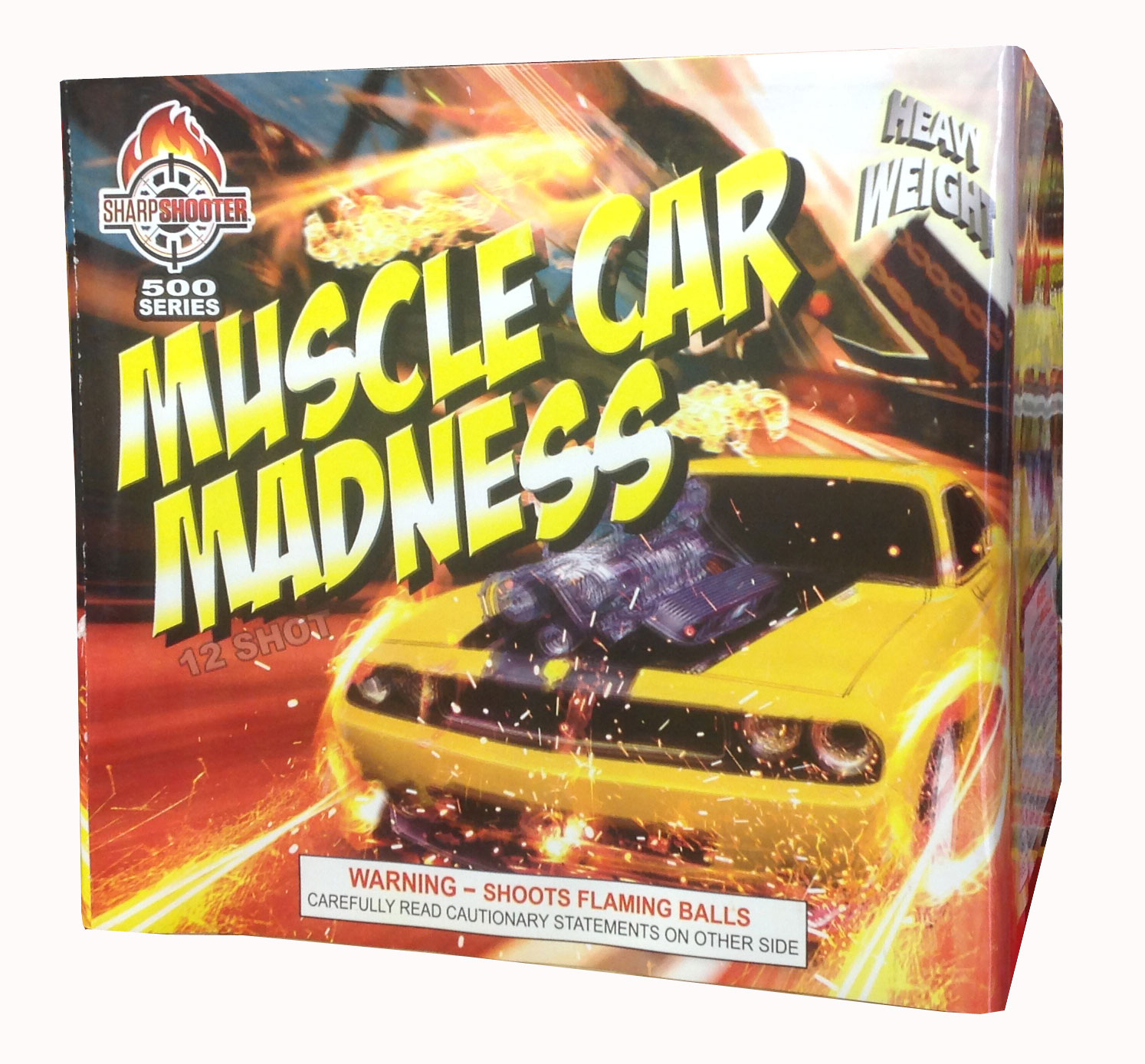 Muscle Car Madness 12 SHOT
