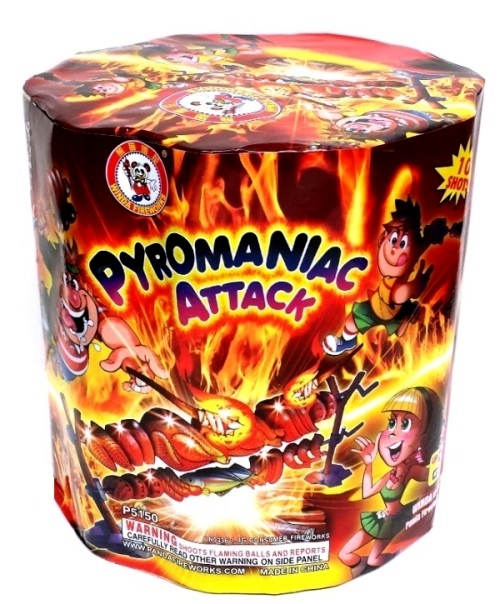 PYROMANIAC ATTACK (NEW)