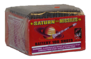 Shogun Saturn Missile 100 shot