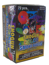Shogun Color Smoke Ball (6pk.)