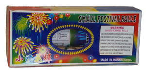 Small Festival Ball 6 pk. (high quality)